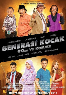 Generasi Kocak : 90an VS Komika 2017 Full Movie