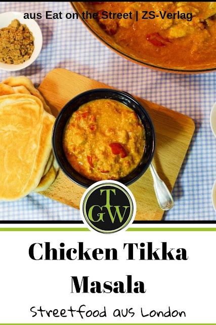 Dieses Chicken Tikka Masala Rezept in Deutsch wird Dich begeistern. Serviert mit einem frischen Naan-Brot oder Reis kann dieses britisch-indische Gericht wirklich jeden überzeugen. Es ist einfach zu machen, man braucht lediglich für das Marinieren ein bisschen Zeit. #topfgartenwelt #chickentikkamasala #deutsch #rezept
