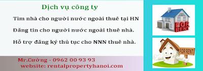 Dịch vụ đăng tin cho người nước ngoài thuê nhà