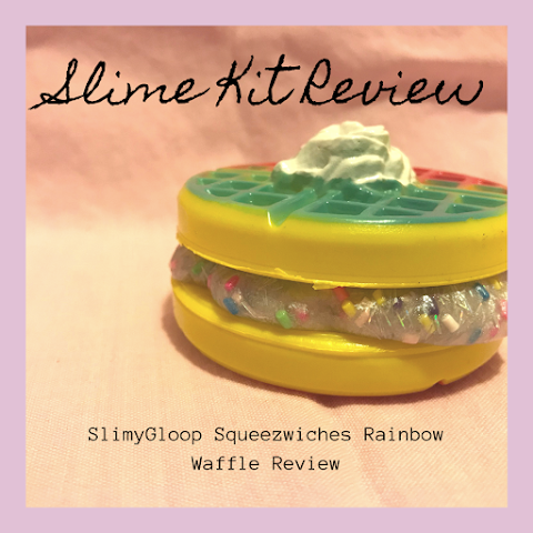 SlimyGloop Squeezwiches Rainbow Waffle Review