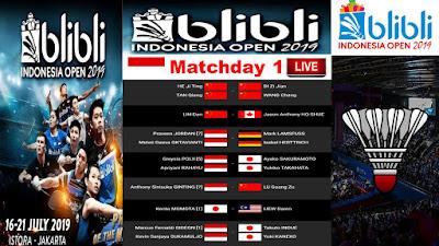 BLIBLI INDONESIA OPEN 2019