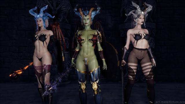 She Will Punish Them: три демоницы