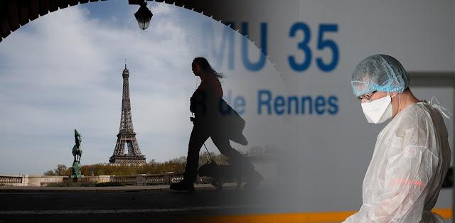 Γαλλία: 1.427 νεκροί από κορονοϊό σε 24 ώρες