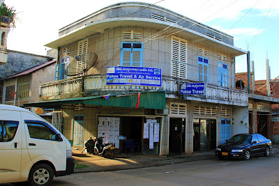 Agence de Voyage locale Pakse (mini- bus pour les 4000 îles)