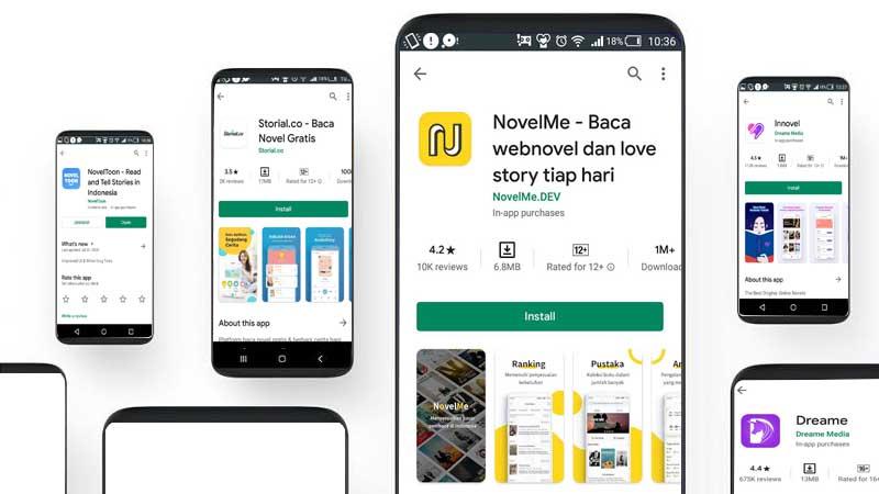 aplikasi menulis cerita yang menghasilkan uang
