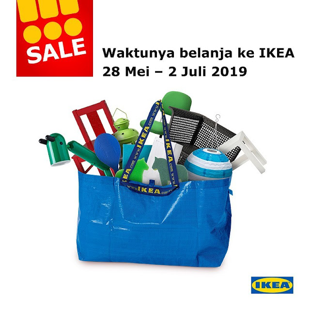 #IKEA - #Promo SALE Belanja di IKE (s.d 2 Juli 2019)