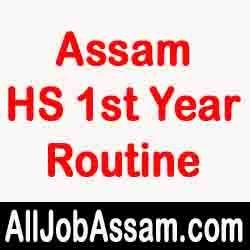 AHSEC HS 1st Year Routine 2020