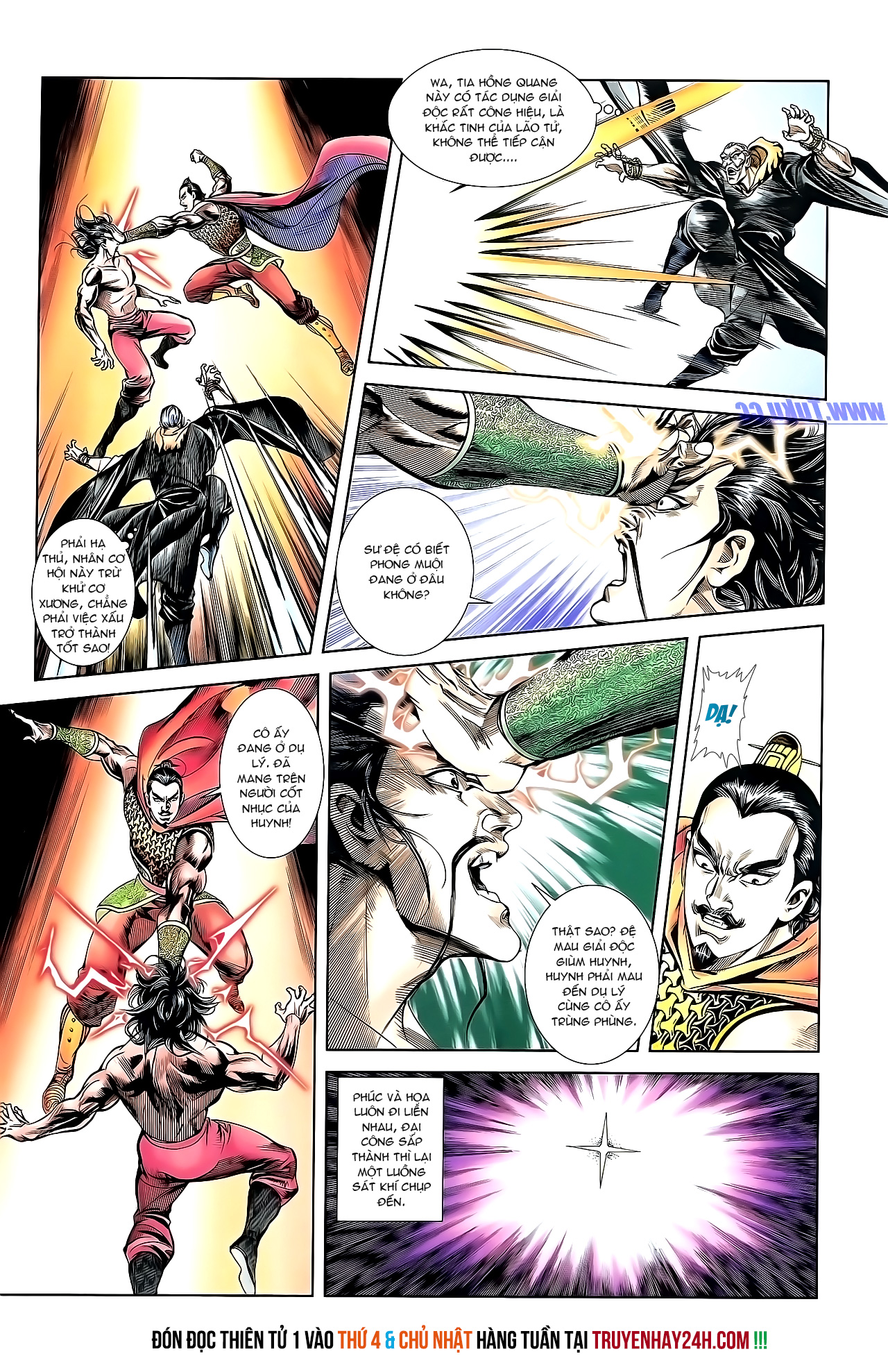 Cơ Phát Khai Chu Bản chapter 151 trang 27