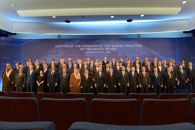 Από τη συνάντηση των ΥΠΕΞ της Παγκόσμιας Συμμαχίας για την Ήττα του ΙΚ