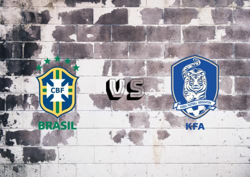 Brasil vs República de Corea  Resumen y Partido Completo