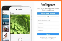 Instagram Log In with Facebook