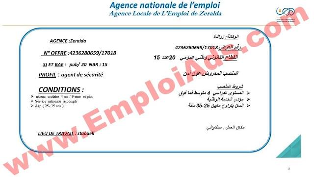 اعلان عروض عمل من الوكالة المحلية للتشغيل لزرالدة ولاية الجزائر ماي 2017