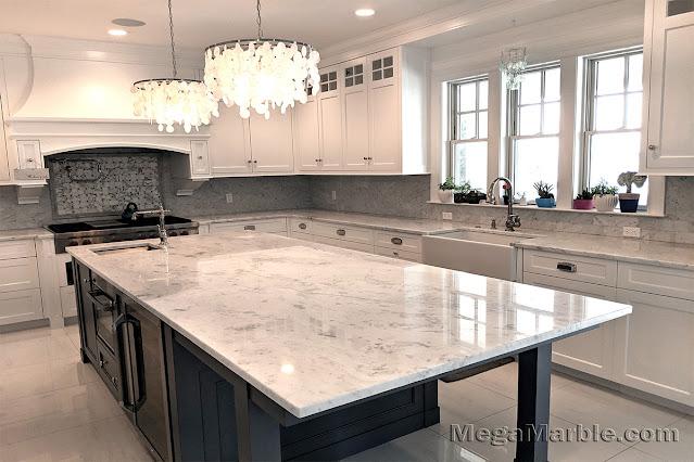 Stone kitchen island top