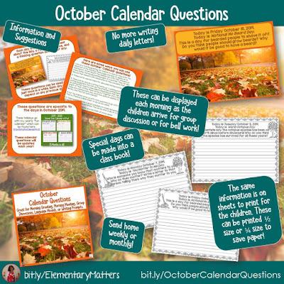 https://www.teacherspayteachers.com/Product/October-Calendar-Questions-4034538?utm_source=October%20Resources%20post&utm_campaign=October%20Calendar%20Questions