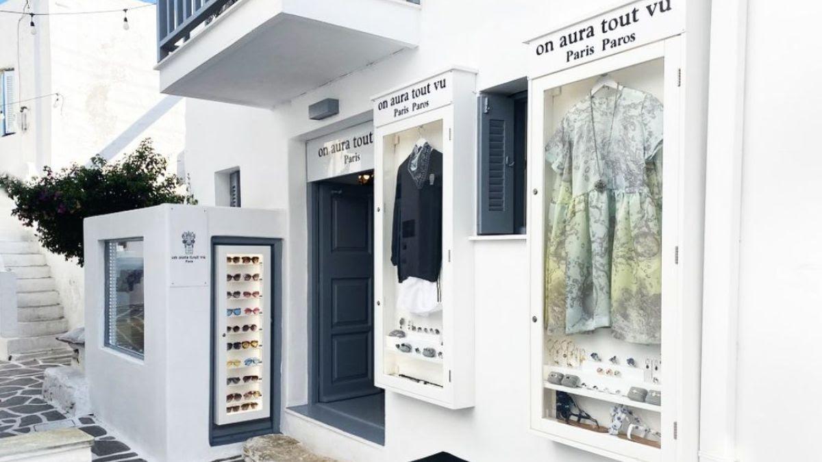 boutique Paros On aura tout vu