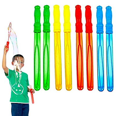 bubble wand tube party favour idea