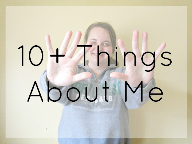 10+ Things About Me from Courtney's Little Things