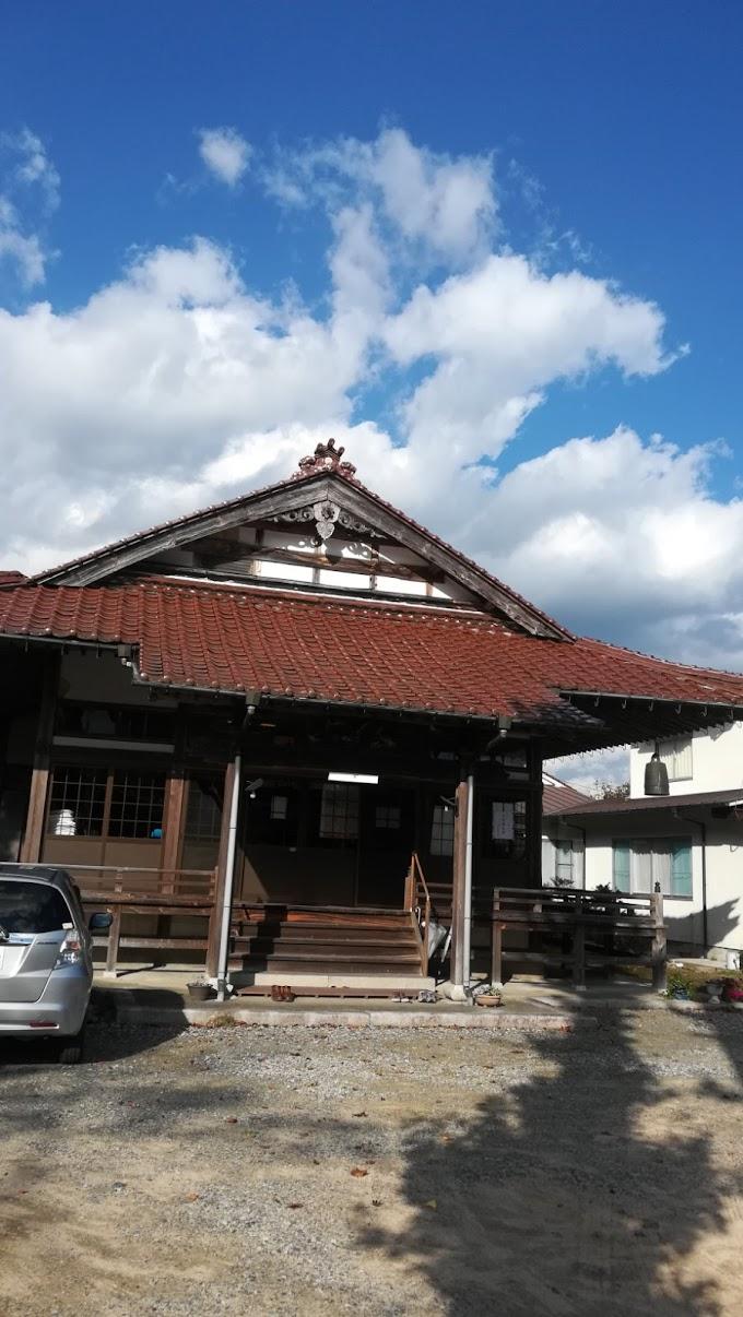 お寺で浄化と瞑想プログラム