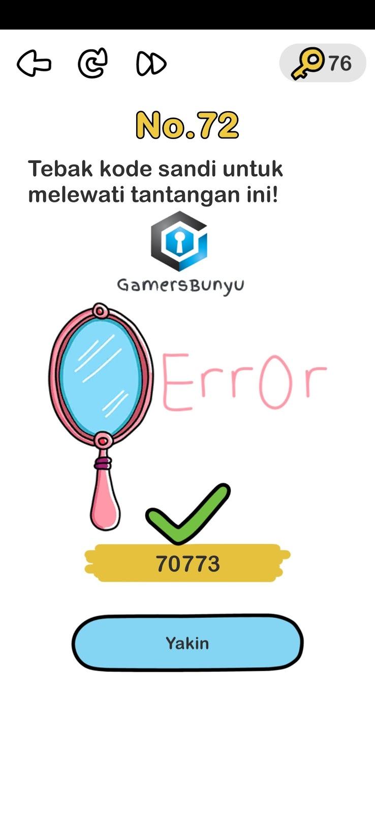 Jawaban Brain Out Level 71 72 73 74 75 76 77 78 79 80 Gamers Bunyu