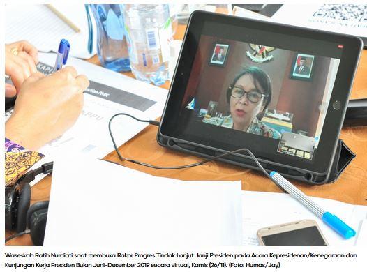 Sekretariat Kabinet Jalankan Tugas dan Fungsi Monitoring atas Pelaksanaan Kebijakan dan Program Pemerintah.