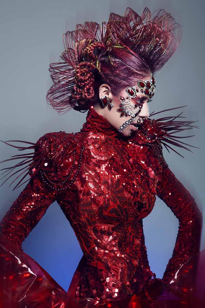 color de pelo rojo 2020