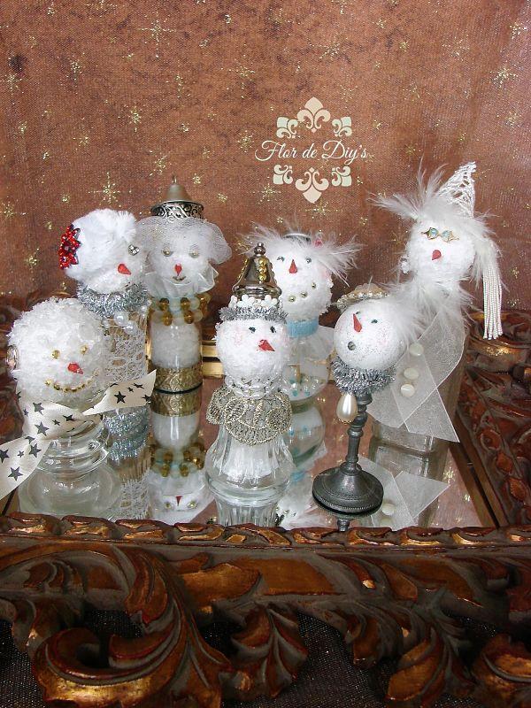 muñecos-de-nieve-vintage-flor-de-diys