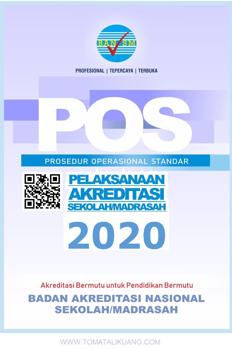 Download POS Akreditasi Sekolah/Madrasah Tahun 2020 PDF ...