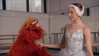 Murray the people in your neighborhood Ballet Dancer. Sesame Street Episode 4323 Max the Magician season 43
