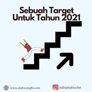 Menetapkan target pertahun