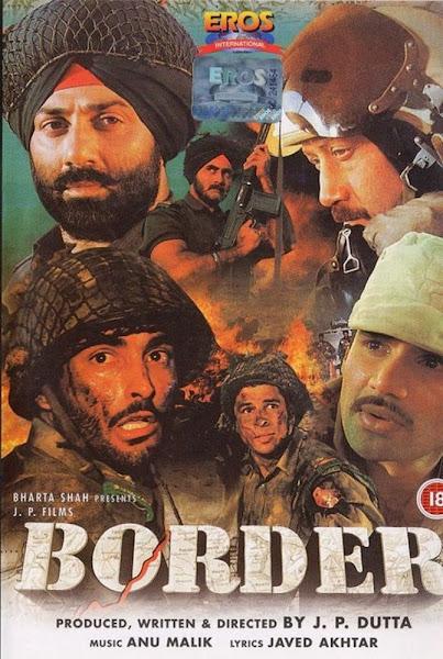 Poster Of Border 1997 Hindi 720p DVDRip Full Movie Download