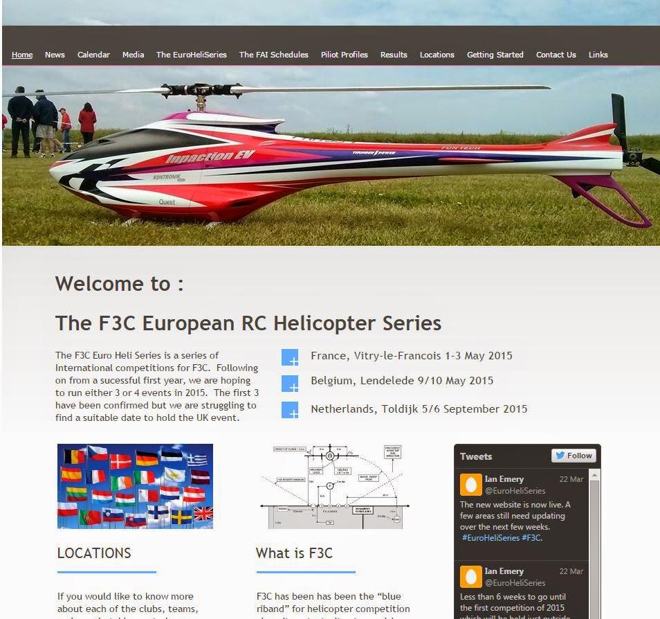 SMB Bearings Ltd Blog: F3C European RC Helicopter Series