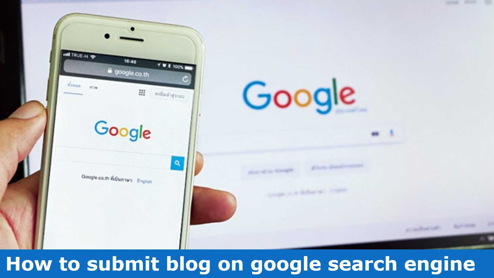 how to submit blog on google search engine