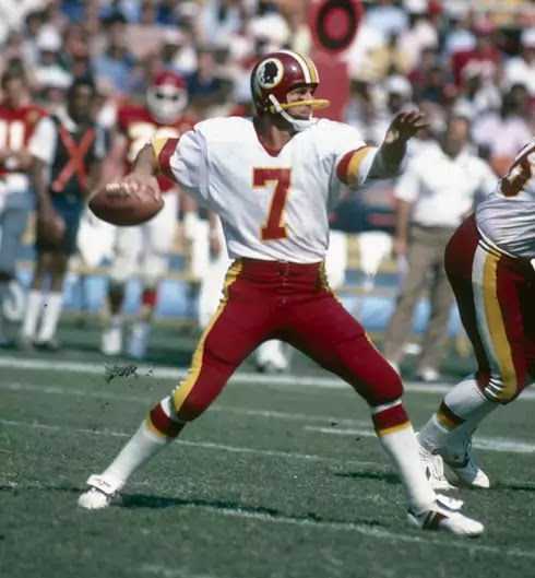 Joe Theismann Washington redskins
