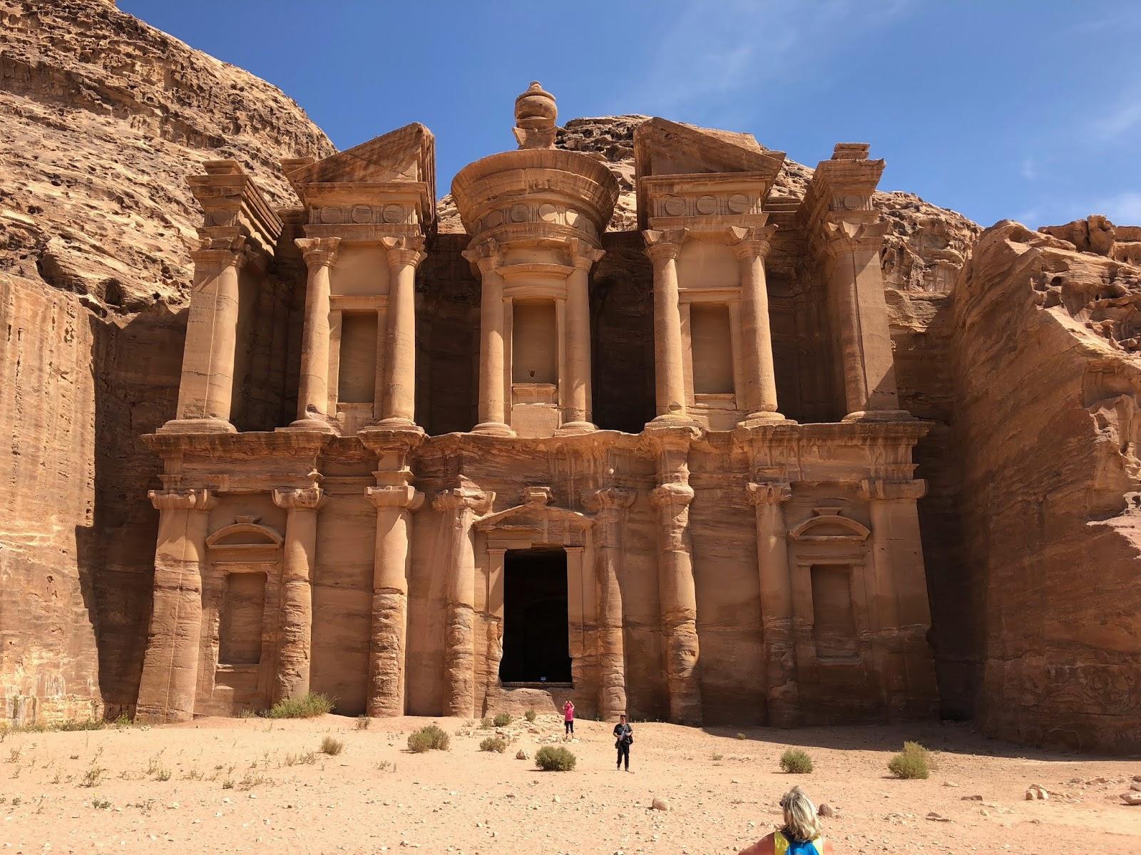 petra-kota batu di yordania