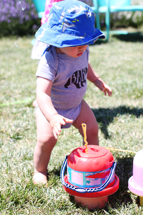 Bubble makers for kiddos at family-friendly Hood River Lavender