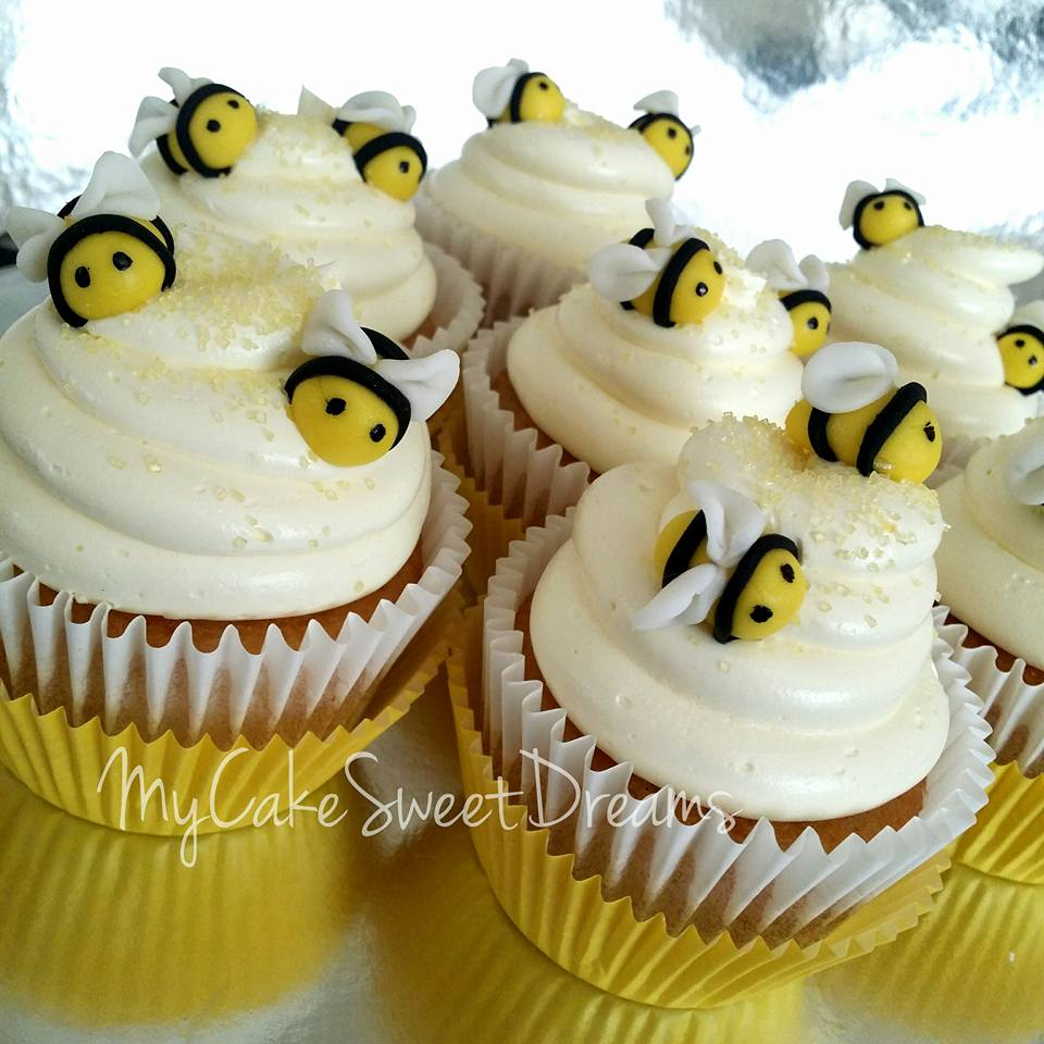 My Cake Sweet Dreams Bumble Bee Baby Shower Ptc Cofo