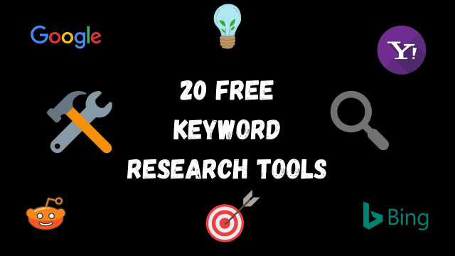 20 Free Keyword Research Tools (Trusted and 100% Free!)