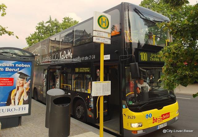 Berlin buss nr 100