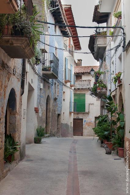 Ráfales turismo viaje Teruel Aragón