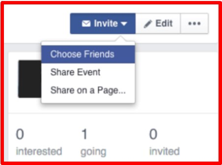 how to share an event on facebook timeline