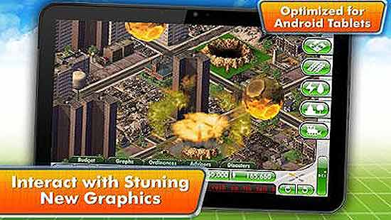 SimCity Deluxe Mod Apk For Android