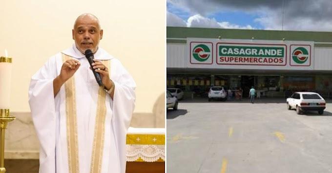 Padre alvo de preconceito em supermercado quer encorajar vítimas
