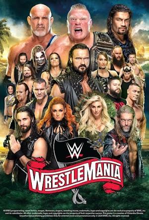 WWE WRESTLEMANIA (2020) 1080P LATINO/INGLES