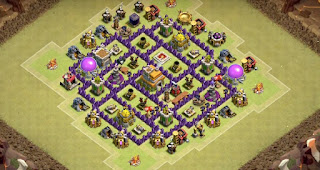 Town Hall 7 War Base