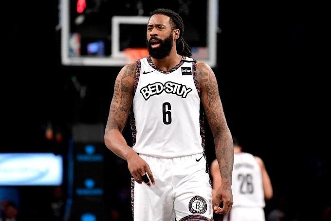 DeAndre Jordan testa positivo para o novo coronavírus e fica fora da retomada da NBA, em Orlando