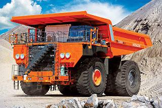 Camion minier Hitachi