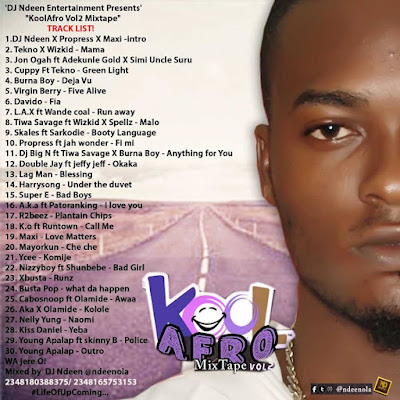 DJ%2BNdeen KoolAfro naijawavez.com  - MIXTAPE: DJ Ndeen - Kool Afro Mixtape Vol2