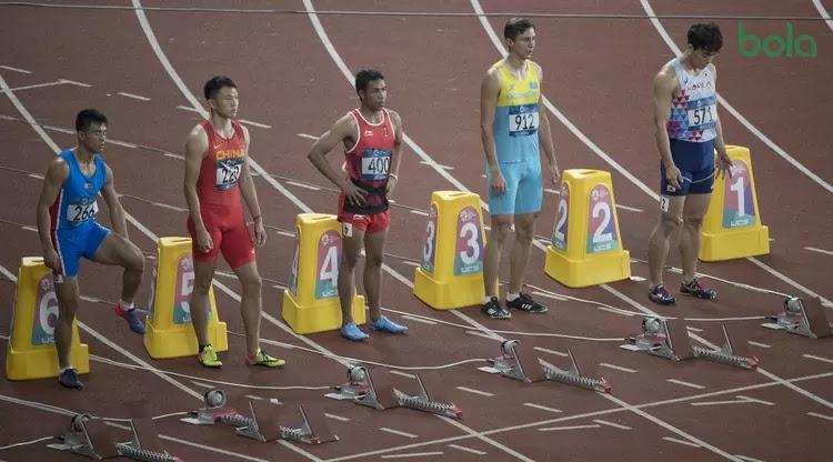 Dua Sunnah yang Dipraktikkan Zohri Saat Tanding di Asian Games