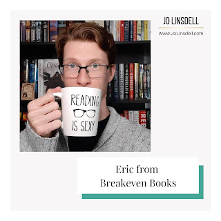 Book Blogger Interview: Eric from Breakeven Books
