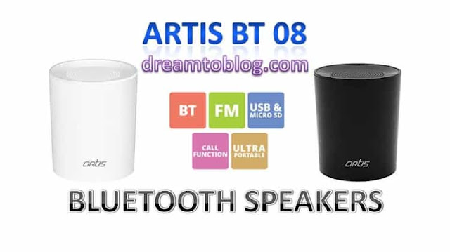 ARTIS BT 08 PORTABLE BLUETOOTH SPEAKER